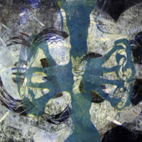 Breath, Kohopaino/ relief print, 61x81cm, 2006