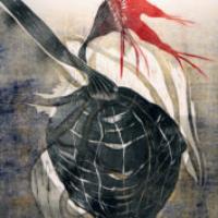 Rakkauden kranaatti/ Grenade of Love, kohopaino/ relief print, 60x46cm, 2010