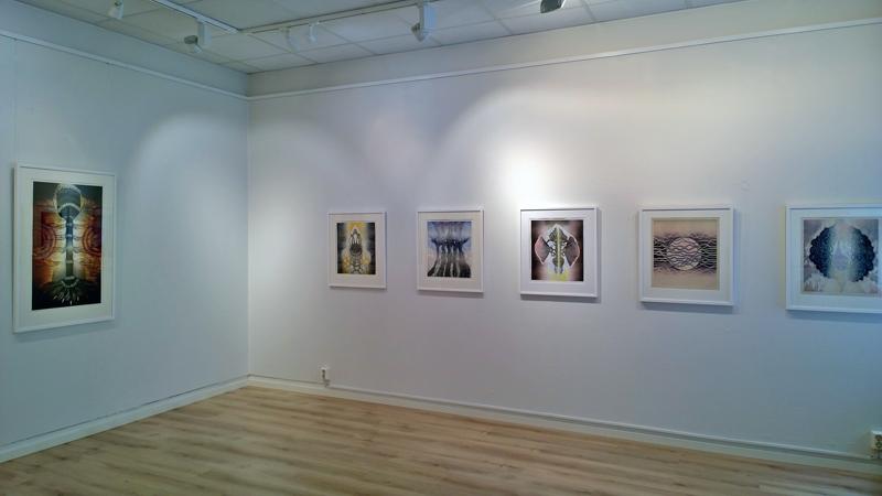 Yksityisnäyttely/Solo Exhibition, Galleria Duetto, Helsinki 14.6.-2.7.2017
