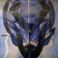 Merkittävä löytö/Remarkable Discovery 2018, kohopaino/relief print, 85x50cm